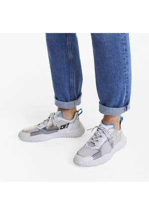 OCTN LOFI DNA  - Sneakers basse - wht-high rise-luminous blue