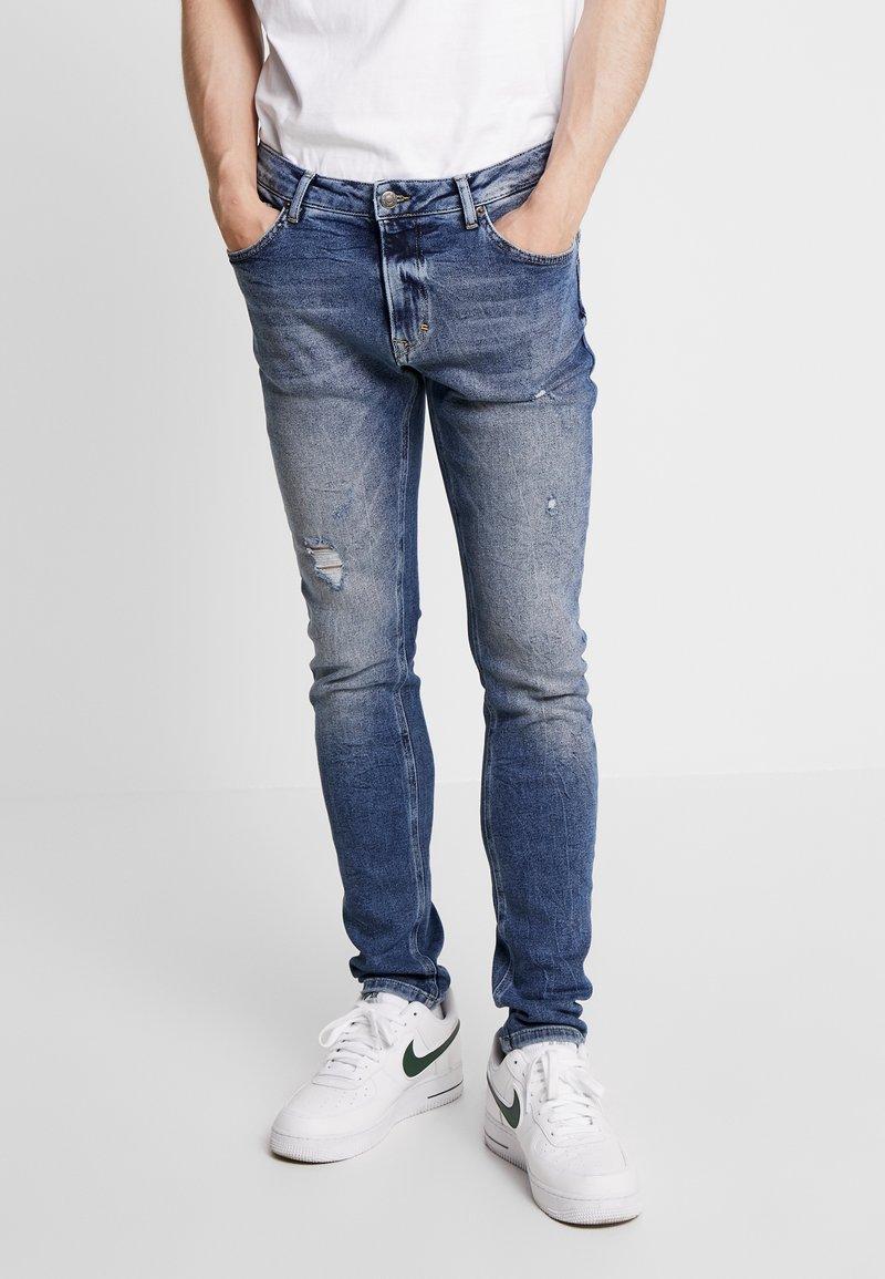 YOURTURN - Jeans Skinny Fit - blue denim