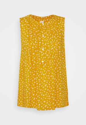 PINTUCK  - Blouse - mini yellow