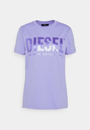 T-SILY-WX - T-shirt con stampa - soft purple