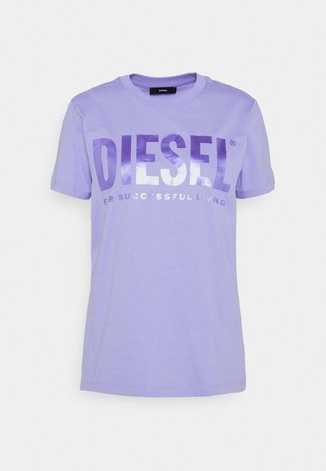 T-SILY-WX - T-shirt imprimé - soft purple
