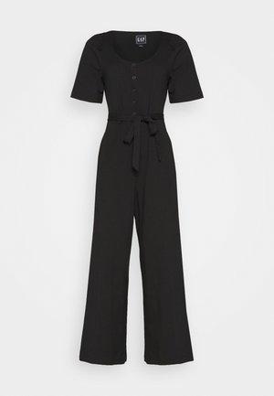 Overall / Jumpsuit /Buksedragter - true black