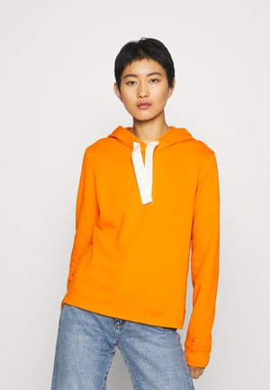 Hoodie - sunbaked orange