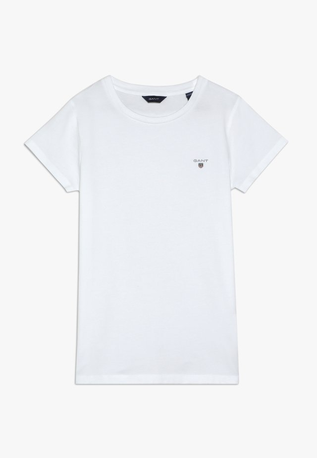 THE ORIGINAL FITTED - Basic T-shirt - white