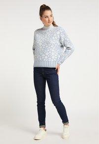 myMo - Sweatshirt - grau blau - 1
