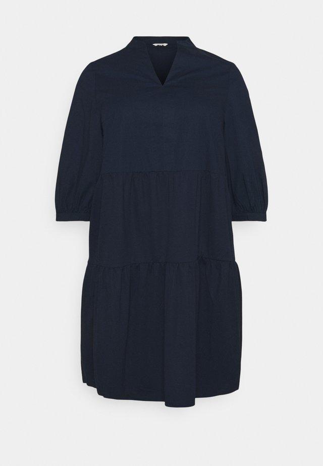 Korte jurk - sky captain blue