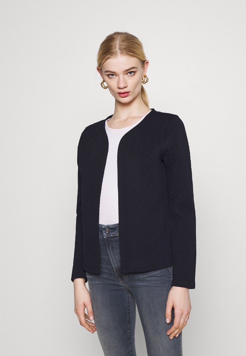 ONLY - ONLCABLE SHORT CARDIGAN  - Cardigan - night sky