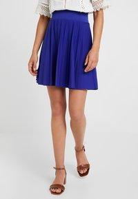 Anna Field Petite - Áčková sukně - clematis blue - 0