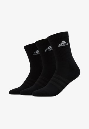 CUSH 3 PACK - Sportsocken - black/white