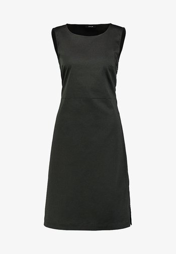 WELIA SOLID - Shift dress - oliv green