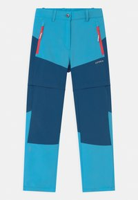 Icepeak - KANO 2-IN-1 UNISEX - Outdoor trousers - aqua - 0