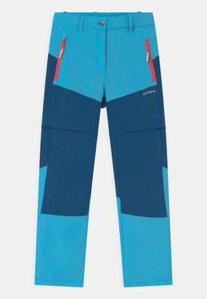 KANO 2-IN-1 UNISEX - Pantaloni outdoor - aqua