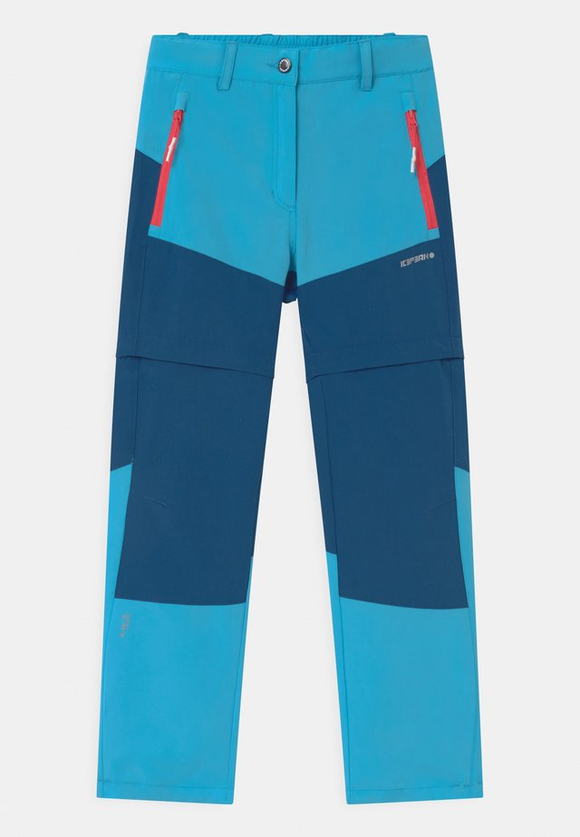 KANO 2-IN-1 UNISEX - Pantaloni outdoor - aqua