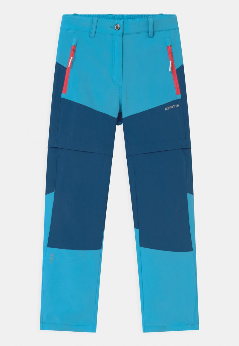 Icepeak - KANO 2-IN-1 UNISEX - Outdoor trousers - aqua
