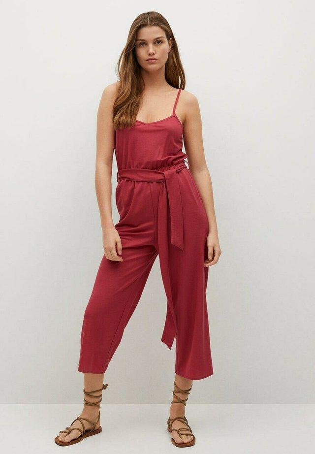 DETAIL - Jumpsuit - strawberry