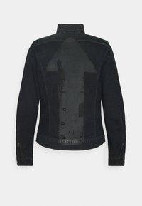 G-Star - SLIM ARROW PRINT - Denim jacket - dark ink blue - 1