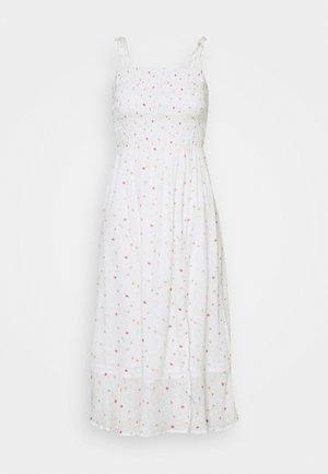 PRINTED SMOCK MIDI DRESS - Day dress - summer