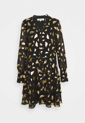 MYLAH - Cocktail dress / Party dress - black/gold