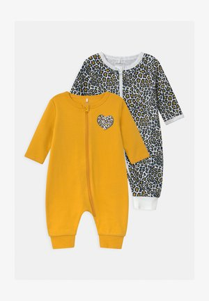 NBFNIGHTSUIT ZIP 2 PACK - Pyjamas - golden rod