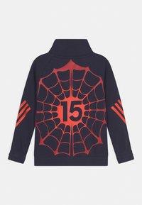 adidas Performance - MARVEL SPIDER-MAN COVER-UP - Zip-up sweatshirt - legend ink/bold orange - 1