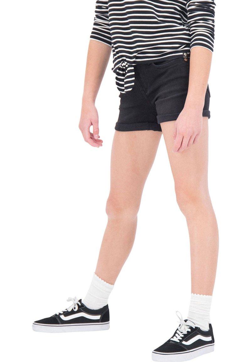 Garcia - Denim shorts - anthracite