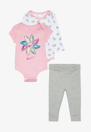 SET BABY - Print T-shirt - dark grey heather