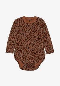 TINYCOTTONS - ANIMAL PRINT  - Long sleeved top - brown/dark brown - 2