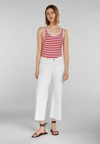 Oui - Top - white red - 1
