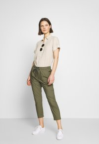 Marc O'Polo - RYGGE - Trousers - soaked moss - 1