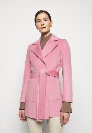 SRUN - Krátký kabát - pink