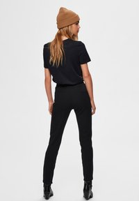 Selected Femme - Trousers - black - 2
