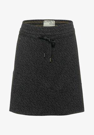 A-line skirt - grau