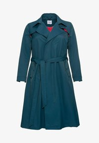 Sheego - Trenchcoat - petrol - 4