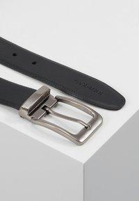Pier One - LEATHER - Belt - black - 2