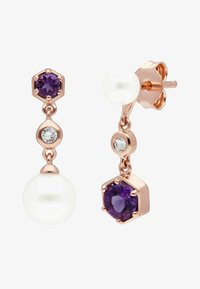 Gemondo - Earrings - purple - 0