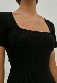 EDITED - INGRID - Jersey dress - schwarz - 3