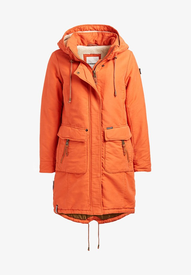 MICHAELA - Wintermantel - orange