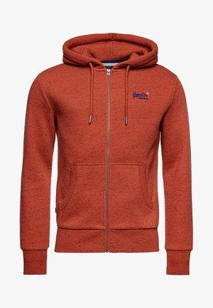 ORANGE LABEL CLASSIC - Zip-up hoodie - arizona orange grit