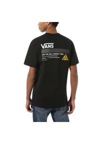 Vans - 66 SUPPLY - Print T-shirt - black