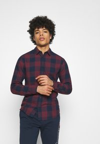 Jack & Jones - JJEGINGHAM  - Skjorta - port royale - 0