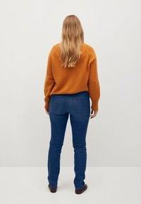 Violeta by Mango - VALENTIN - Slim fit jeans - mittelblau - 2
