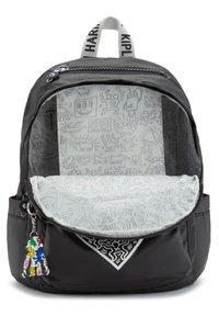 Kipling - DELIA - Backpack - keith haring chalk art - 4
