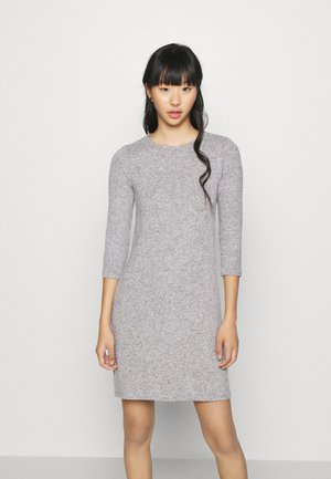 VMTAMMI ZIP DRESS - Etuikjole - light grey melange