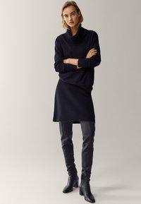 Massimo Dutti - Mini skirt - black - 1