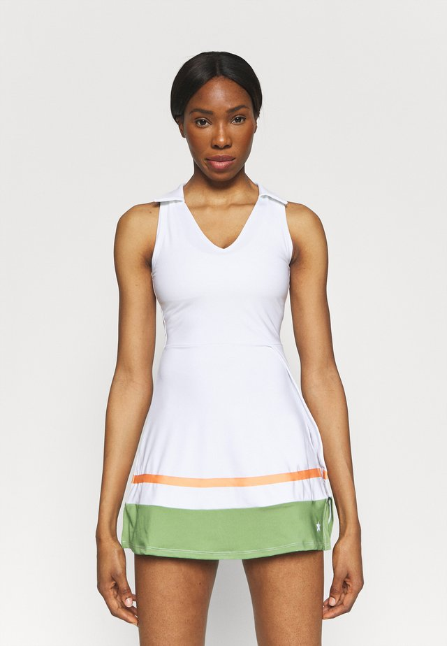 TENNIS DRESS - Jurken - white