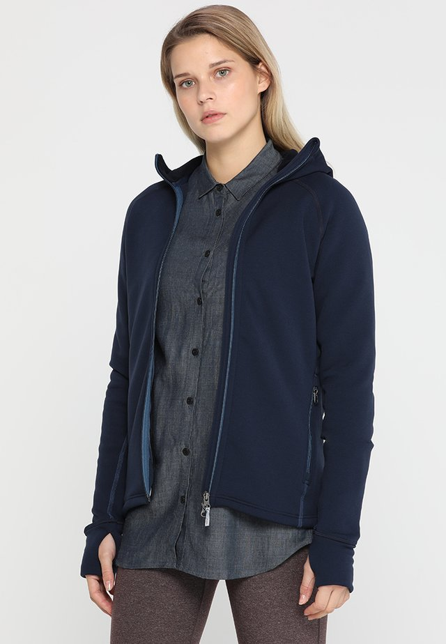 POWER HOUDI - Fleece jacket - blue illusion/tide