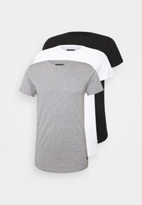 INDICODE JEANS - EAKIN 3 PACK - T-shirt - bas - black - 0