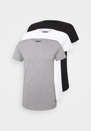 EAKIN 3 PACK - Basic T-shirt - black