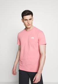 The North Face - MENS SIMPLE DOME TEE - T-shirt basic - mauveglow - 0