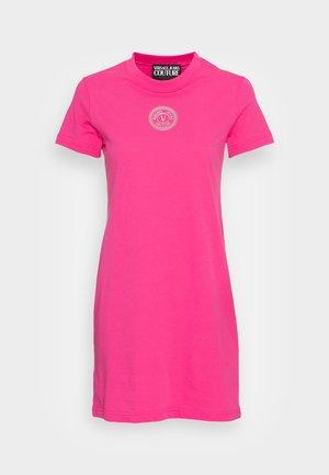 DRESS - Jersey dress - pink